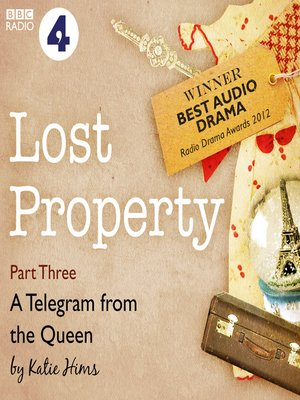 cover image of Lost Property: A Telegram from the Queen