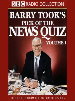 cover image of Barry Took's Pick of the News Quiz