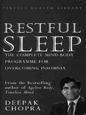 cover image of Restful Sleep