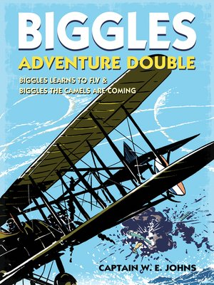 cover image of Biggles Adventure Double