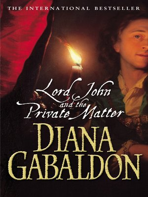 cover image of Lord John and the Private Matter