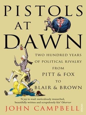 cover image of Pistols at Dawn