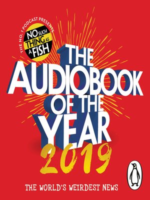 cover image of The Audiobook of the Year 2019