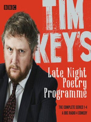 cover image of Tim Key's Late Night Poetry Programme--The Complete Series 1-4