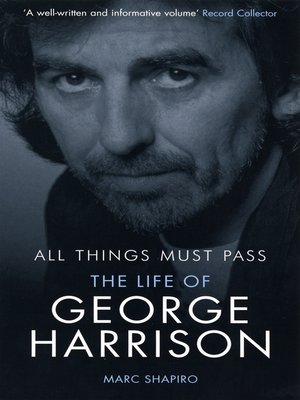 cover image of All Things Must Pass