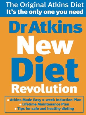cover image of Dr Atkins New Diet Revolution