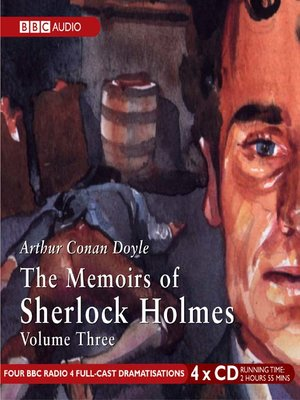 cover image of The Memoirs of Sherlock Holmes, Volume 3