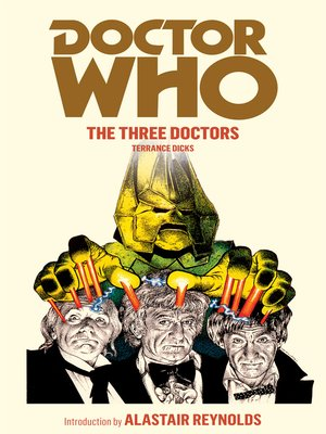 cover image of The Three Doctors