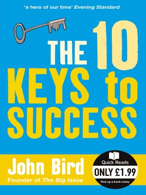 cover image of The 10 Keys to Success