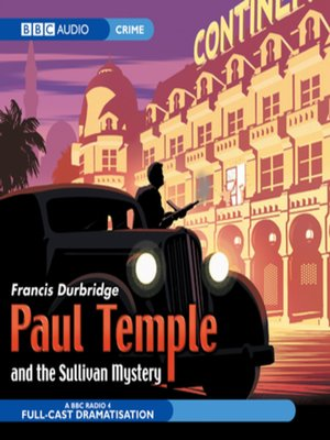 cover image of Paul Temple and the Sullivan Mystery