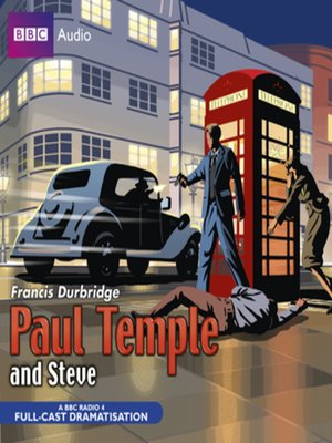 cover image of Paul Temple and Steve