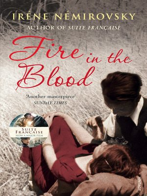cover image of Fire in the Blood