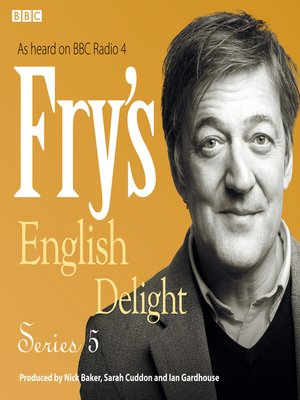 cover image of Fry's English Delight, Series 5
