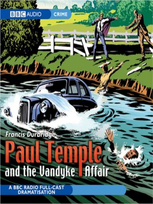 cover image of Paul Temple and the Vandyke Affair