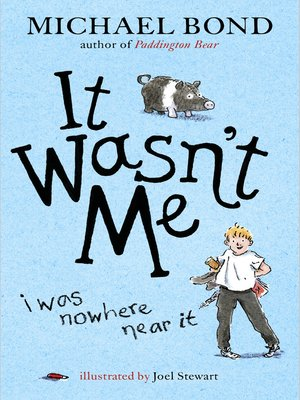 cover image of It Wasn't Me!