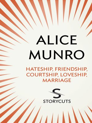 cover image of Hateship, Friendship, Courtship, Loveship, Marriage