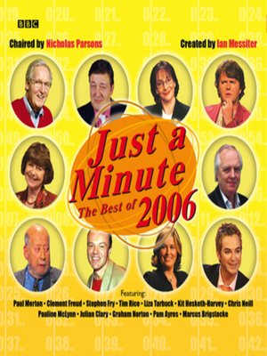 cover image of Just a Minute--The Best of 2006