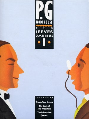 cover image of The Jeeves Omnibus - Vol 1