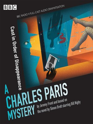 cover image of Charles Paris--Cast in Order of Disappearance