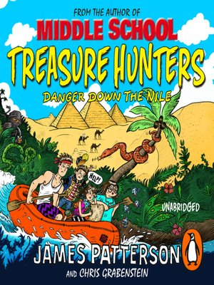 cover image of Treasure Hunters--Danger Down the Nile