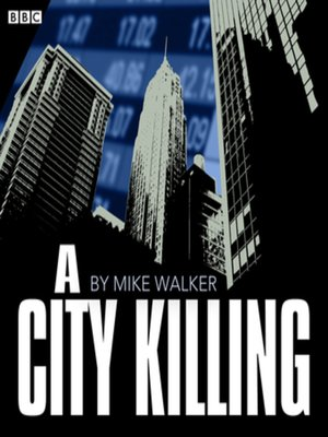 cover image of A City Killing