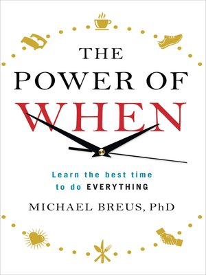 cover image of The Power of When
