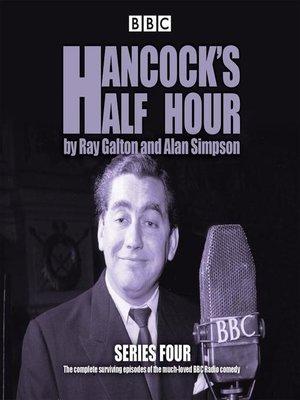 cover image of Hancock's Half Hour, Series 4