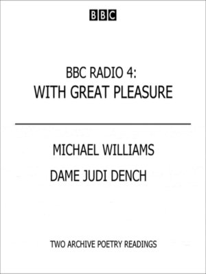 cover image of Judi Dench & Michael Williams  With Great Pleasure