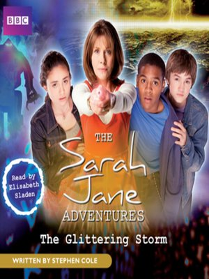 cover image of The Glittering Storm