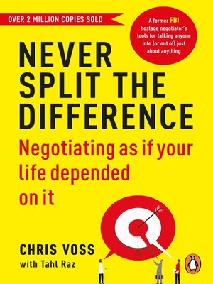 cover image of Never Split the Difference