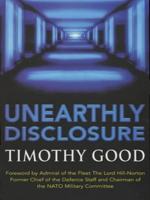 cover image of Unearthly Disclosure