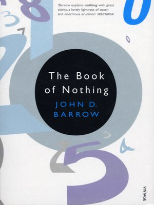 cover image of The Book of Nothing