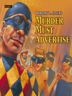 cover image of Murder Must Advertise
