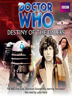 cover image of Doctor Who--Destiny of the Daleks