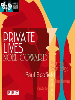 cover image of Private Lives