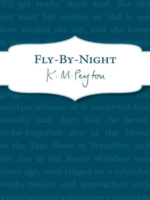 cover image of Fly-by-night
