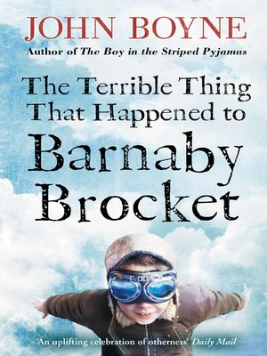cover image of The Terrible Thing That Happened to Barnaby Brocket