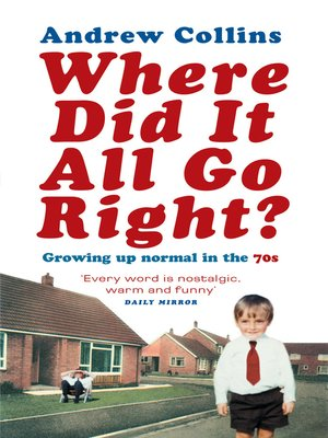 cover image of Where Did It All Go Right?