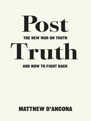 cover image of Post-Truth