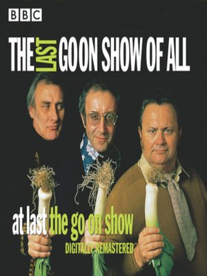 cover image of The Last Goon Show of All