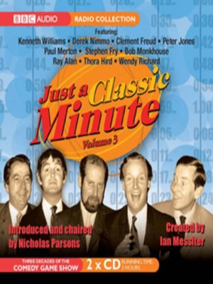 cover image of Just a Minute 3