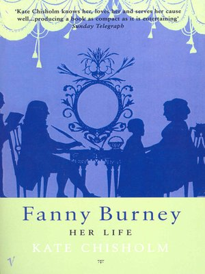 cover image of Fanny Burney