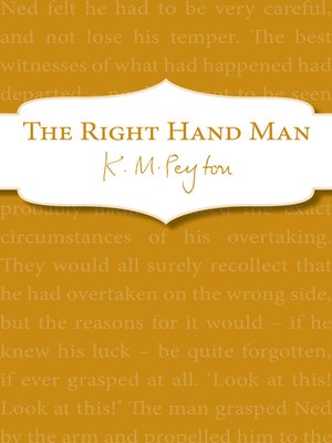 cover image of The Right-Hand Man
