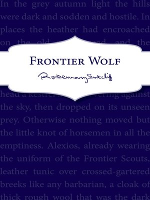 cover image of Frontier Wolf