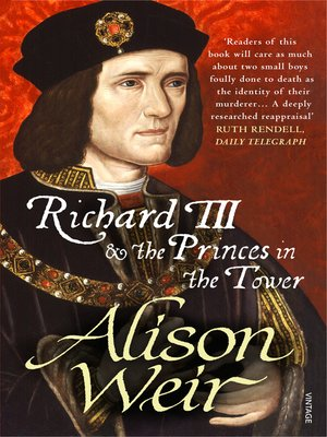 cover image of Richard III and the Princes in the Tower