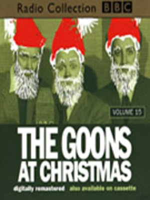 cover image of The Goons At Christmas