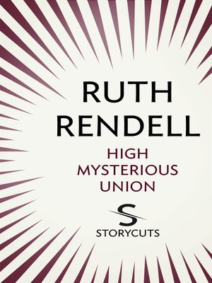 cover image of High Mysterious Union