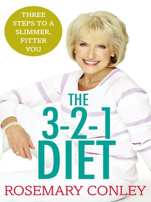 cover image of Rosemary Conley's 3-2-1 Diet