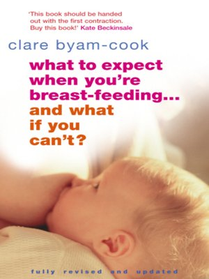 cover image of What to Expect When You're Breast-feeding... and What If You Can't?
