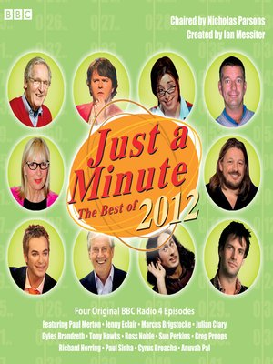 cover image of Just a Minute: The Best of 2012, Episode 1